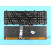 Клавиатура для MSI MS-1759 черная с подсветкой
