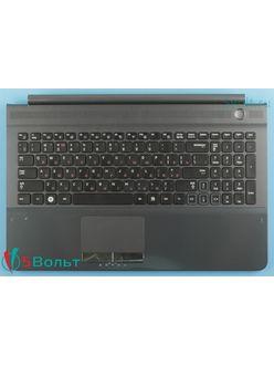 Клавиатура для ноутбука Samsung RC510, NP-RC510 топкейс черный