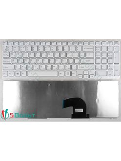 Клавиатура для ноутбука Sony Vaio SVE151A11W, SVE151C11W белая
