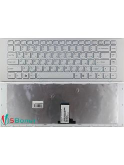 Клавиатура для ноутбука Sony Vaio VPCEK, VPC-EK серии белая