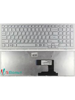 Клавиатура для ноутбука Sony PCG-71C11V белая