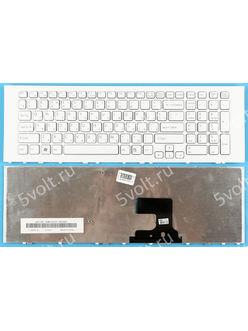 Клавиатура для ноутбука Sony Vaio VPCEJ, VPC-EJ серии белая