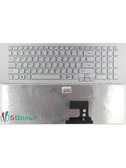 Клавиатура для ноутбука Sony Vaio VPCEF, VPC-EF серии белая