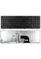 Клавиатура для Sony SVE15, E15 серии  черная с подсветкой
