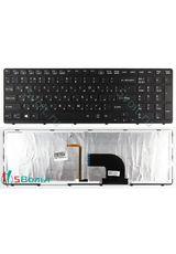 Клавиатура для Sony SVE151D11W, SVE151E11W, SVE151E11V черная с подсветкой