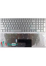 Клавиатура для Sony Vaio SVF152A29V серебристая