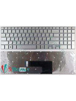 Клавиатура для ноутбука Sony Vaio SVF152A29V серебристая