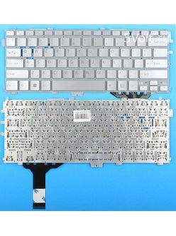 Клавиатура для ноутбука Sony SVP1322V9R серебристая
