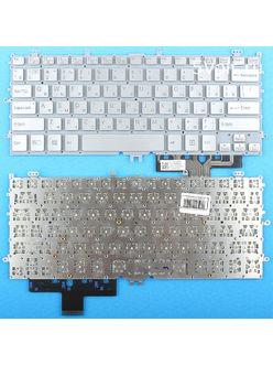 Клавиатура для ноутбука Sony SVP11, SVP112 серебристая