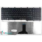 Клавиатура для Toshiba C650, C650D черная