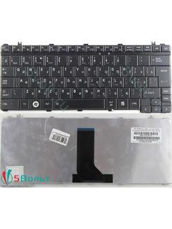 Клавиатура для ноутбука Toshiba Satellite A600, E205, T130 черная