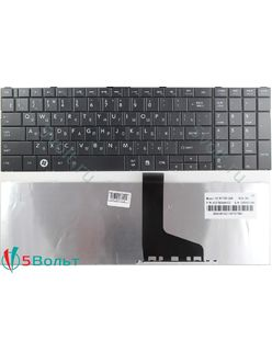 Клавиатура для ноутбука Toshiba Satellite C850, C855 черная
