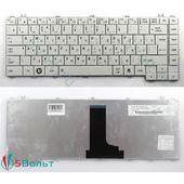 Клавиатура для Toshiba C600, C640, C645 белая