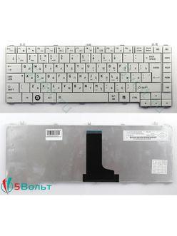 Клавиатура для ноутбука Toshiba Satellite C600, C640, C645 белая