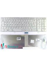 Клавиатура для Toshiba Satellite C850, C855 белая