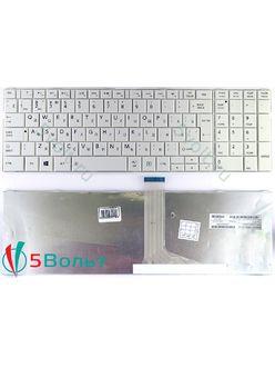 Клавиатура для ноутбука Toshiba Satellite C870, C875белая