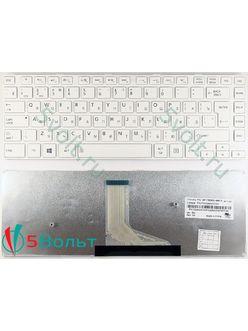 Клавиатура для ноутбука Toshiba Satellite C40 белая
