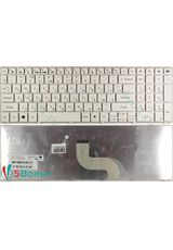 Клавиатура для Packard Bell LM81, LM85, LM97 белая