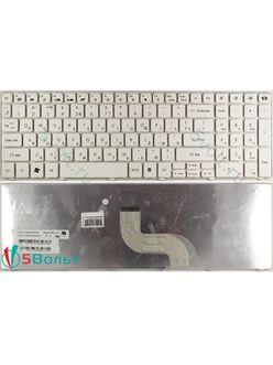 Клавиатура для ноутбука Packard Bell EasyNote TM81, TM85, TM99 белая