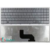 Клавиатура для Packard Bell LJ65, LJ67, LJ71, LJ75 серебристая