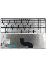 Клавиатура для Packard Bell TM81, TM85, TM99 серебристая