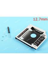 Переходник (адаптер, optibay) c DVD на HDD/SSD, толщина 12.7мм