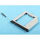 Переходник (адаптер, optibay) c DVD на HDD/SSD для Lenovo 110-15